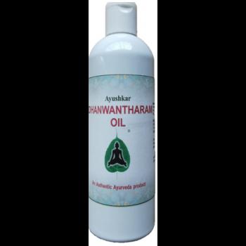Huile de massage ayurvédique Dhanwantharam - 200 ml