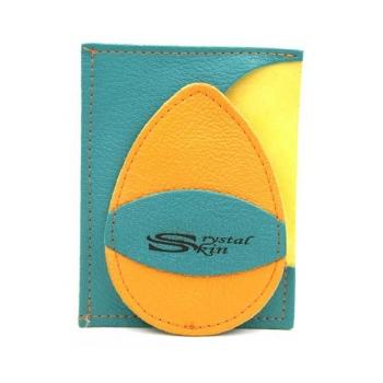 Gant d'exfoliation et d'épilation Veronese/ Jaune ambre