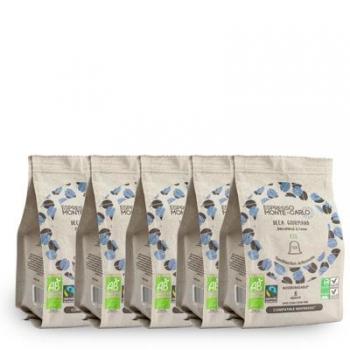 Espresso Monte-Carlo - PACK ZÉRO CAFÉINE - 50 capsules biodégradables et compatibles Nespresso