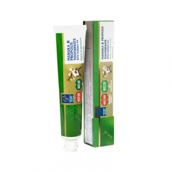 Dentifrice au Miel de Manuka MGO™ 400+, Huile de Manuka et Propolis, 100g