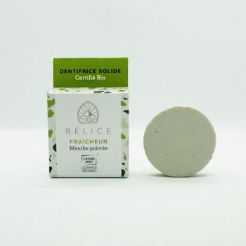 Dentifrice solide bio (boîte carton) - 18g