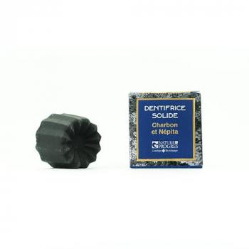 Dentifrice SOLIDE charbon/Népita, 35g