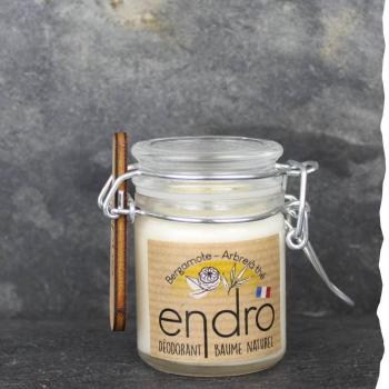 Déodorant baume Endro 50ml Arbre à thé Bergamote