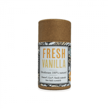 "Déodorant naturel au Chanvre - ""Fresh Vanilla"""
