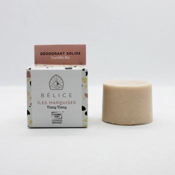 Déodorant solide Bio - ÎLES MARQUISES (Boîte carton) 38g