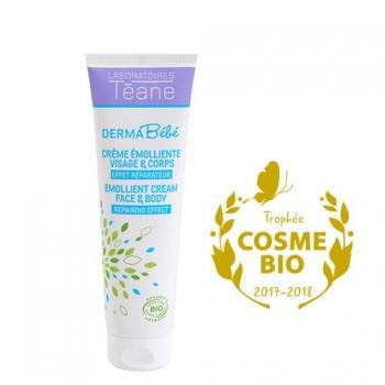 Dermabébé - Crème émolliente - Laboratoires Téane
