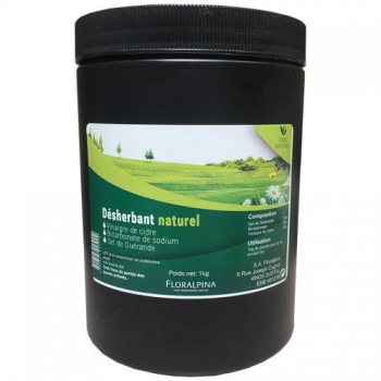 Désherbant naturel 1kg (vinaigre, sel et bicarbonate)
