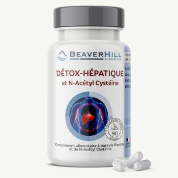 Détox-Hépatique et N-Acétyl Cystéine - Foie, Détoxification, Drainage