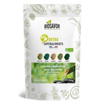 Mix detox en poudre Bio - 200g