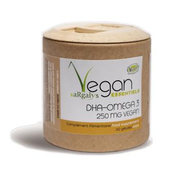 DHA Oméga 3 Vegan - 60 gélules - Argalys