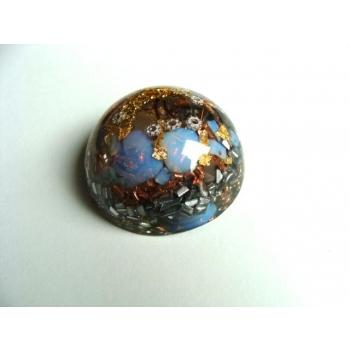 Demi sphère opale