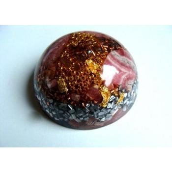 Demi sphère grand modèle rhodocrosite