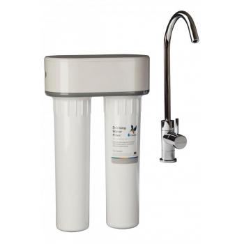 Filtre eau pure Doulton DUO sous évier ANTI NITRATE
