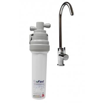 Filtre eau pure Doulton EcoFast sous évier avec cartouche Ultracarb