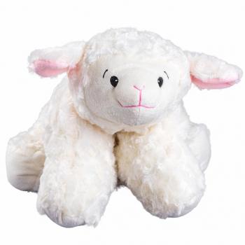 Bouillotte Peluche 2 en 1 : Bouillotte/Oreiller Mouton