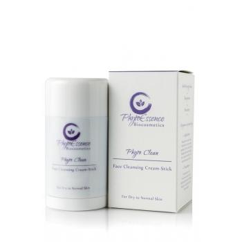 Crème-stick nettoyant visage - Peau sèche à normale  75gr