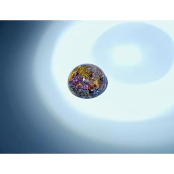 Orgonite demi-sphère amétrine petit modèle