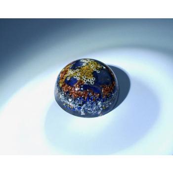 Orgonite demi sphère sodalite petit modèle