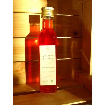 Le vinaigre de Kombucha Hibiscus Lavande