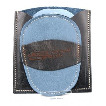 Gant d'exfoliation et d'épilation Bleu/Noir