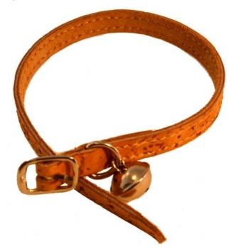 Collier pour chien et chat avec grelot Taille: 31 cm.