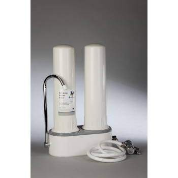 Filtre eau pure Doulton DUO sur évier ANTI CALCAIRE