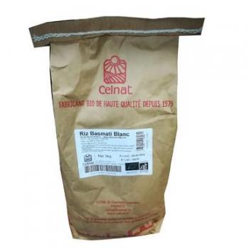 Riz basmati blanc 3 kg  CELNAT