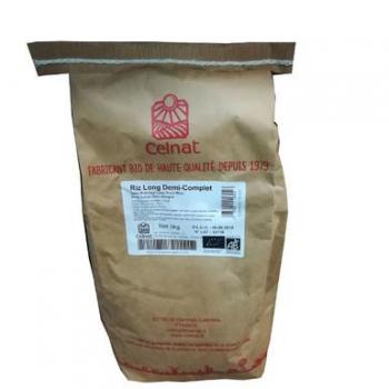 Riz long 1/2 complet 3kg  CELNAT