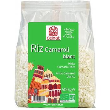Riz carnaroli blanc 500g  CELNAT