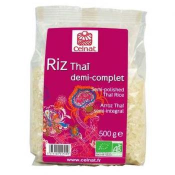 Riz thai 1/2 complet 500g  CELNAT