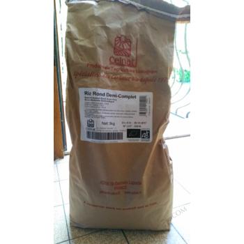 Riz rond 1/2 complet 3kg  CELNAT