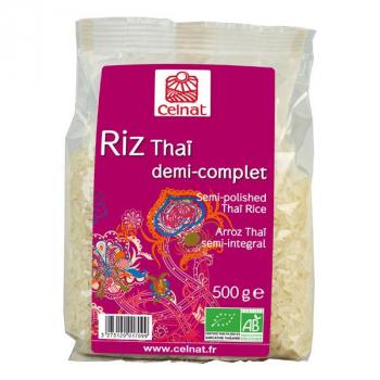 Riz thai 1/2 complet 3kg  CELNAT