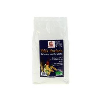 Farine de blés anciens semi-complète t110 1kg  CELNAT