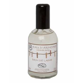 Eau d'armoire - Brin de laine - 100 ml - Savonnerie de Bormes