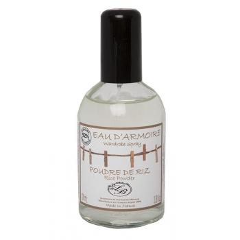 Brume de voilage - Eau d'armoire - Poudre de Riz - 100 ml - Savonnerie de Bormes