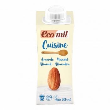 Crème Cuisine aux Amandes 200ml Bio - Ecomil