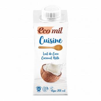 Crème Cuisine Lait de Coco 200ml Bio - Ecomil
