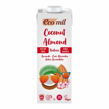 Lait Coco-Amandes Nature 1L Bio - Ecomil