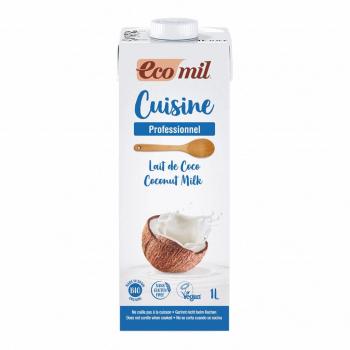 Crème Cuisine Lait de Coco 1L Bio - Ecomil