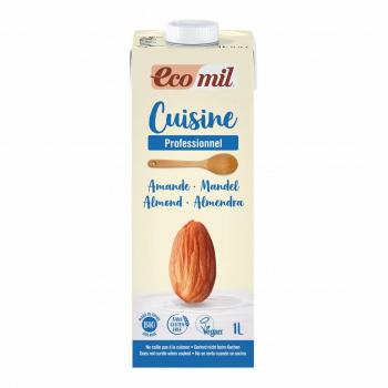 Crème Cuisine aux Amandes 1L Bio- Ecomil