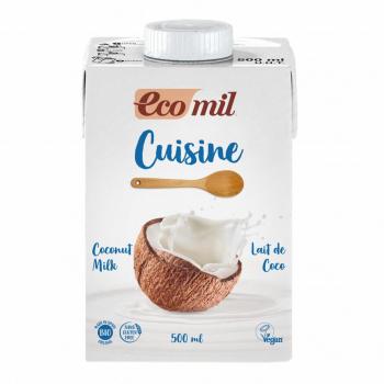 Crème Cuisine Lait de Coco 500ml Bio - Ecomil