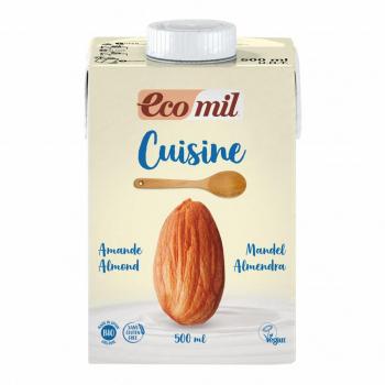 Crème Cuisine aux Amandes 500ml Bio - Ecomil