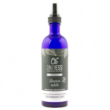 Véritable eau florale de Laurier noble BIO - Flacon verre 200 ml