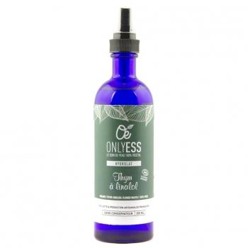 Véritable eau florale de Thym à linalol BIO - Flacon verre 200 ml