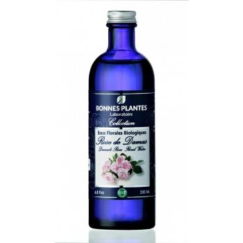 Eau Florale de Rose de Damas Bio -  ( Votre pompe spray offert )