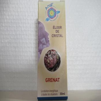 """Elixir de cristal """"grenat"""""""