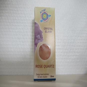 "Elixir de cristal ""quartz rose"""