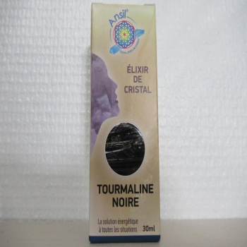 """Elixir de cristal """"tourmaline noire"""""""