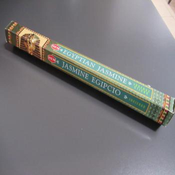 Boite de 20 bâtons d'encens de jasmin égyptien