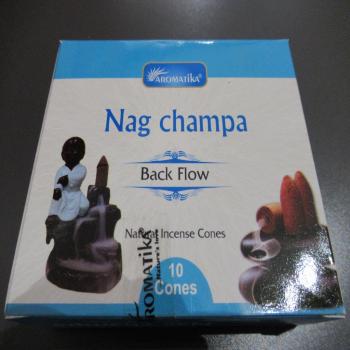 """Cônes encens à reflux """"Nag champa"""""""
